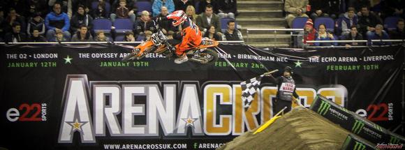 Carl Nunn at Arenacross 2013