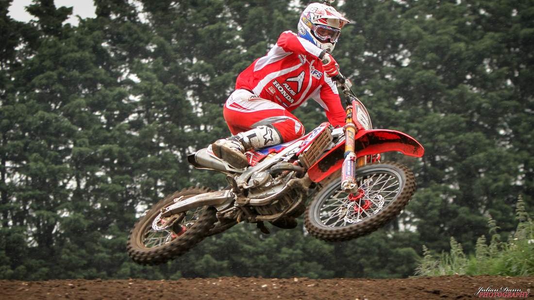 Lewis Tombs at MX Training Events