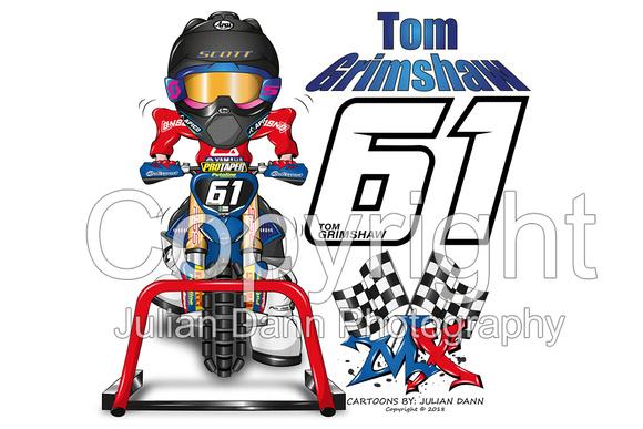 mx racing cartoon